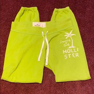 Hollister cropped sweat pants